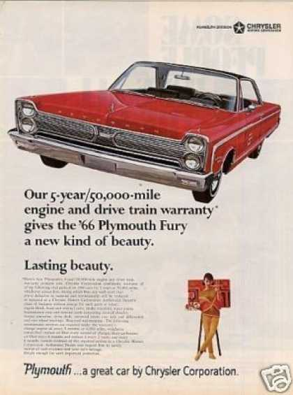Plymouth Fury Car (1966)