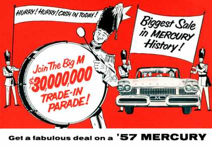 Mercury Trade-In Parade (1957)
