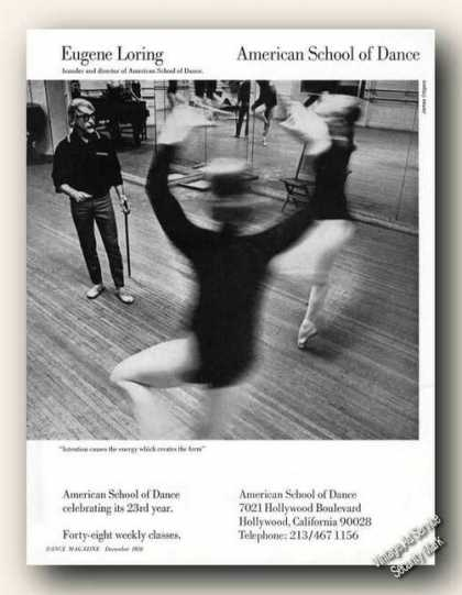 Eugene Loring Picture American School of Dance (1970)