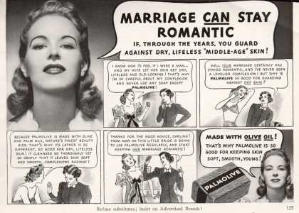 Palmolive Company's Palmolive Soap – Marriage CAN Stay Romantic (1939)