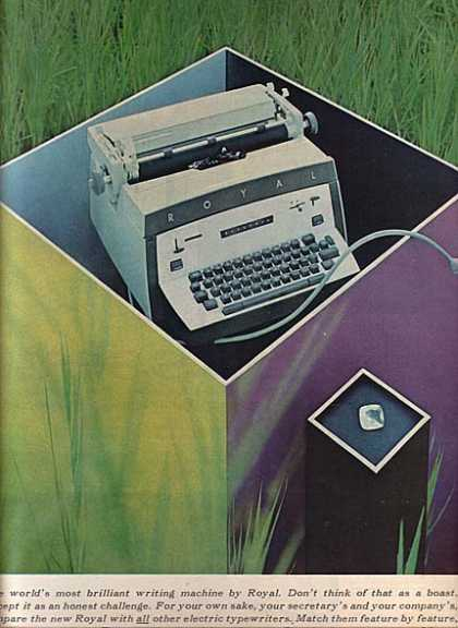 Royal (Electric Typewriters) (1960)