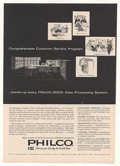 Philco 2000 Data Processing System Computer (1961)