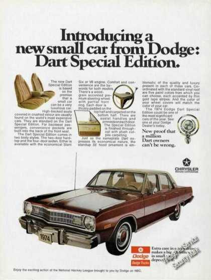 Dodge Dart Special Edition Car (1974)