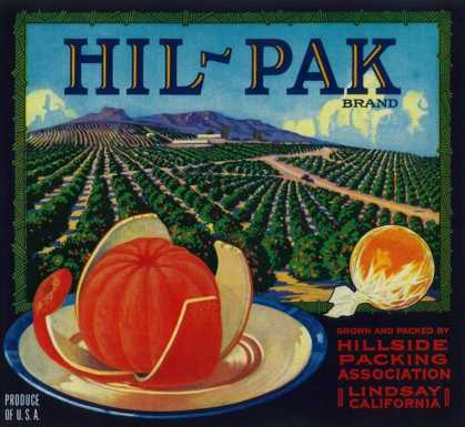Hil Pak Orange Label – Lindsay, CA