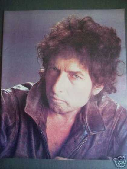 Bob Dylan Magazine Promo Photo (1984)