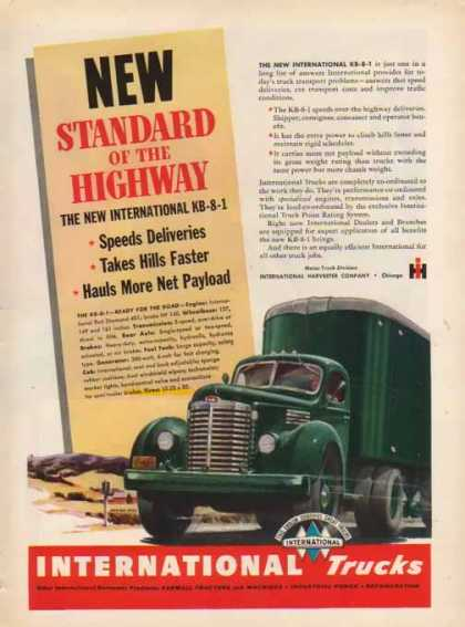 International Harvester – Standard of The Highway – Sold (1948)