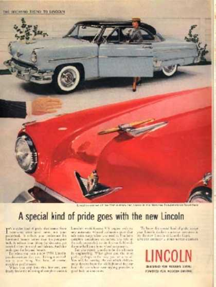 Ford's Lincoln (1954)