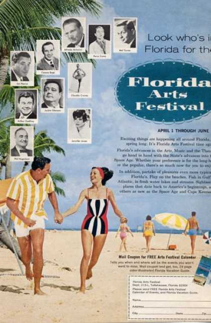 Florida Arts Festival Big Star Names Pics (1965)