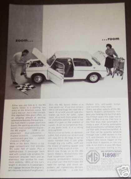 Mg Sports Sedan Car Photo (1963)