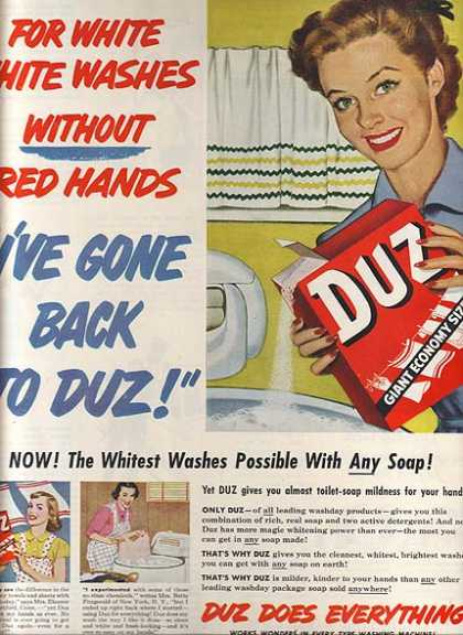Duz's Laundry Soap (1951)