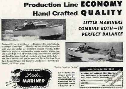Little Mariner Boat Photos Annapolis Md (1956)