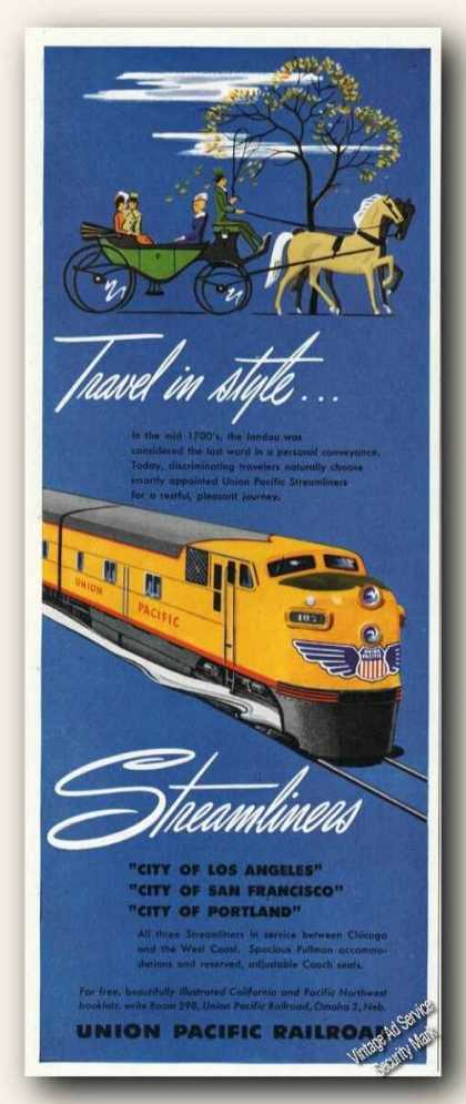 Union Pacific Streamliners Antique Train (1949)