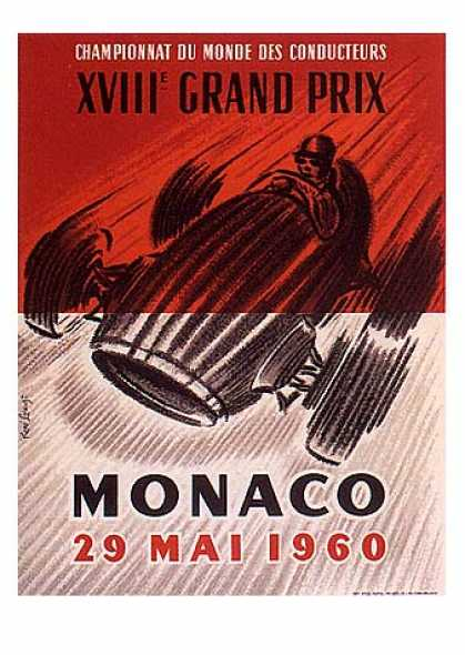 Monaco Grand Prix by Lorenzi (1960)