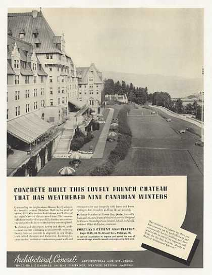 Manoir Richelieu Hotel Murray Bay Quebec Photo (1937)