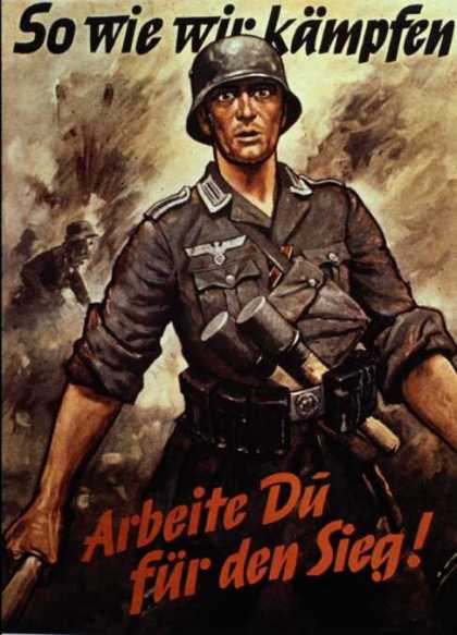 Nazi War Production Poster