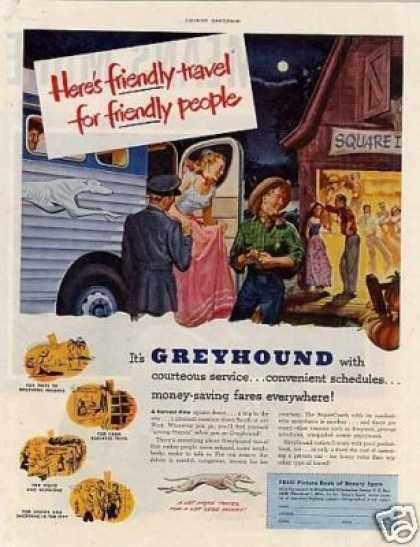 Greyhound Bus (1951)