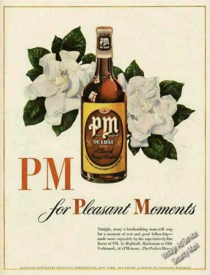 Pm (penn Maryland) Whiskey (1944)