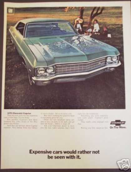 Chevrolet Caprice Chevy Car Original (1970)