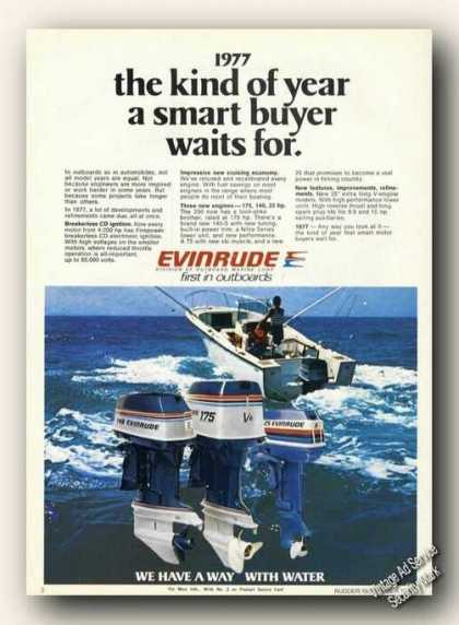 Evinrude Outboard Motors Photo (1977)