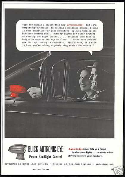 Buick Autronic Eye Car Headlight Control (1959)
