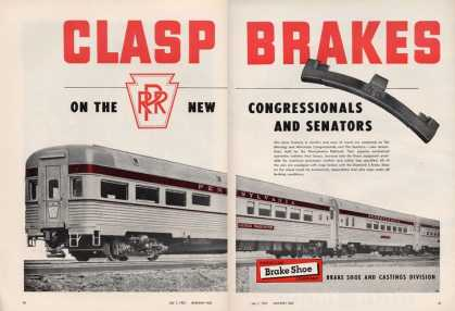 American Break Shoe Co. Train Railroad (1952)
