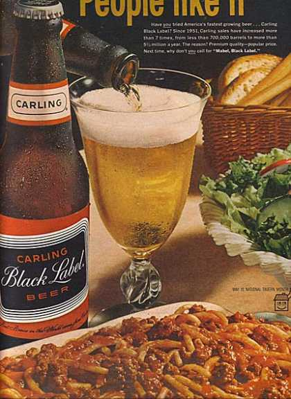 Carling's Black Label Beer (1964)