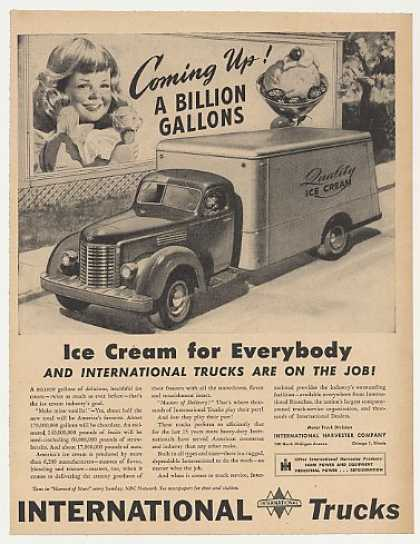 IH International Harvester Ice Cream Truck (1946)