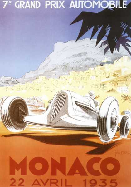 7th Grand Prix Automobile, Monaco (1935)