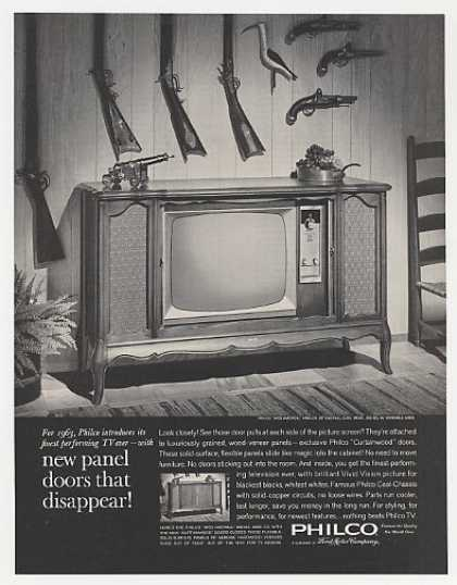 Philco Miss America Model 4896-CH TV Television (1962)