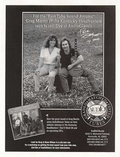 Kentucky Headhunters Greg Martin AudioGlassic (1995)