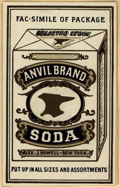 Alex J. Howell's Soda (Anvil Brand ) – Anvil Brand Soda