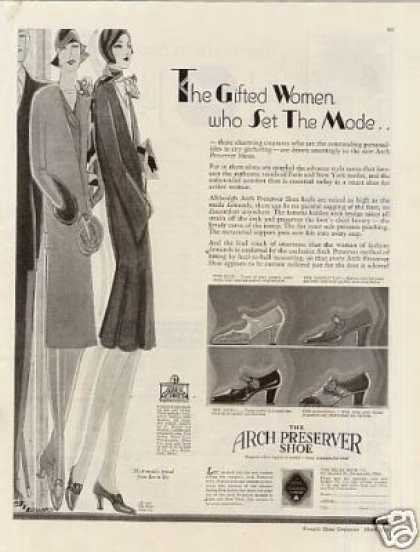 Arch Preserver Shoes (1929)