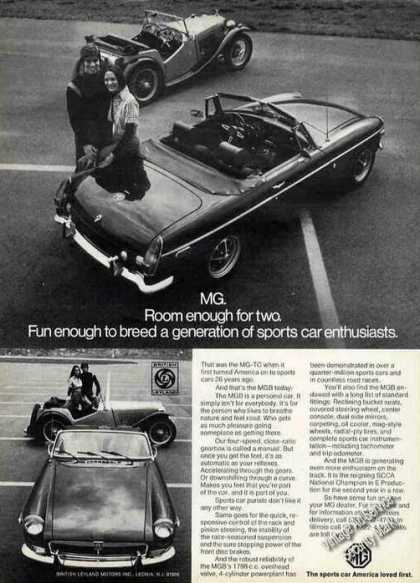Mgb & 1947 Mg-tc Photos Cars (1973)