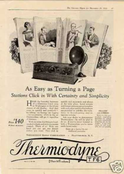 Thermiodyne Radio (1924)