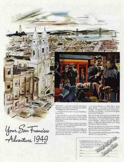 San Francisco Art Collectible Travel (1949)