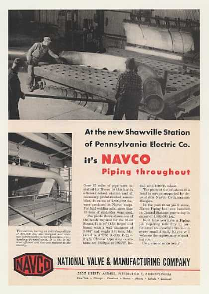 Pennsylvania Electric Shawville Station Navco (1956)