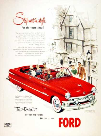 Ford Custom Deluxe Convertible (1951)