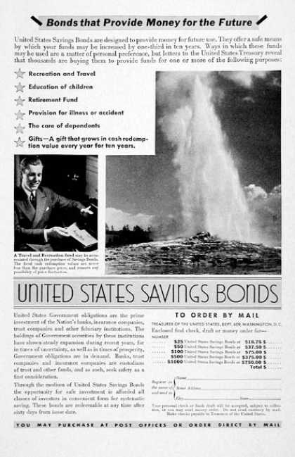 United States Savings Bonds #3 (1936)