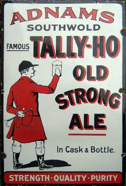 Adnam's Tally Ho Strong Ale