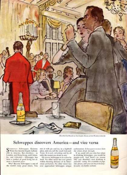 Schweppes Dancing at Waldorf Astoria (1953)
