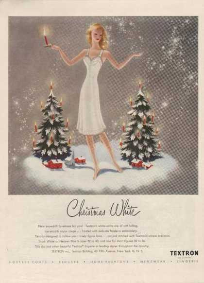 Textron Christmas White Clothing (1946)