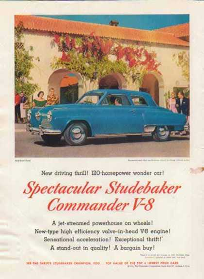 Studebaker Commander V-8 Coupe – In front of Hacienda (1951)