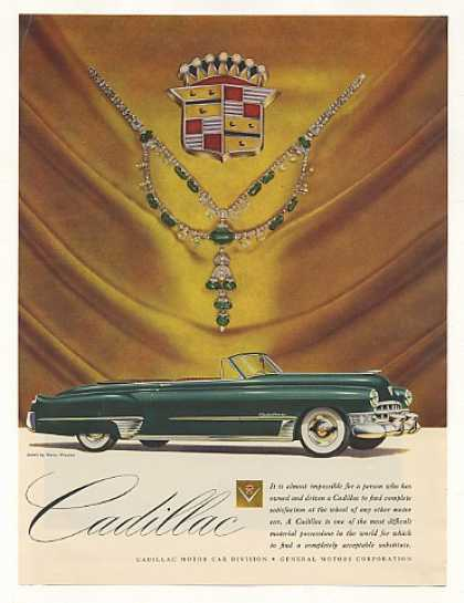 Green Cadillac Convertible Harry Winston Jewels (1949)