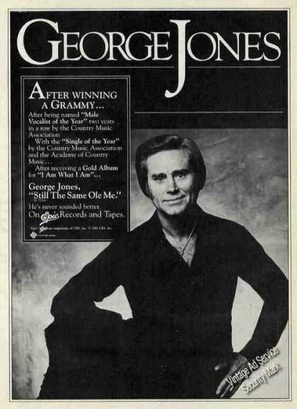 George Jones Photo Collectible Music (1981)