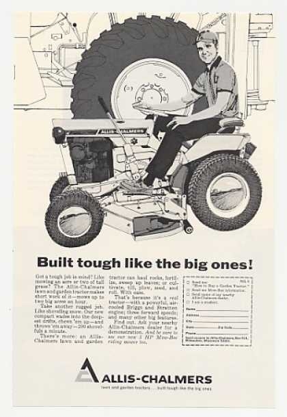 Allis-Chalmers Lawn Tractor Tough Like Big Ones (1967)