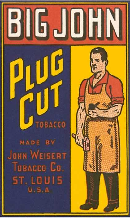 Big John Plug Cut Tobacco