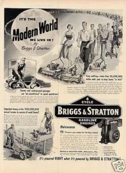 Briggs & Stratton Gasoilne Engines (1954)
