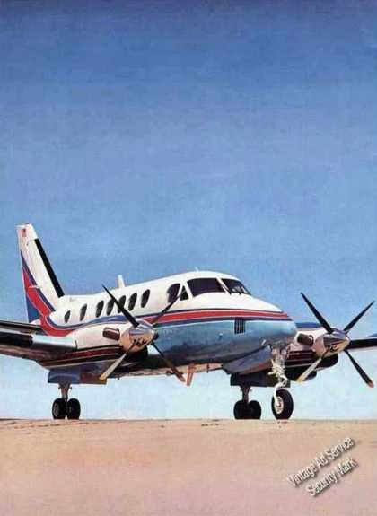 Beechcraft Introduces King Air A100 Photo Plane (1972)