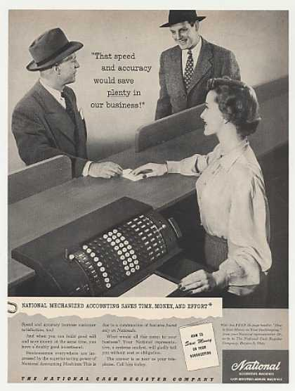 NCR National Accounting Machine Photo (1949)