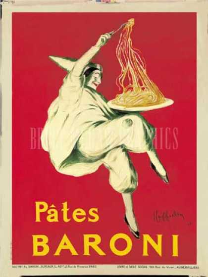 Pates Baroni by Leonetto Cappiello